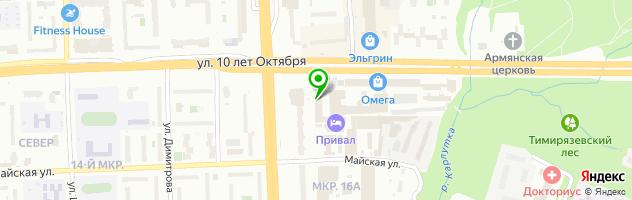 Установочный центр Эскорт-Авто — схема проезда на карте