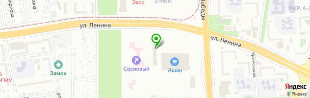 Клиника репродукции Клиника Нуриевых — схема проезда на карте
