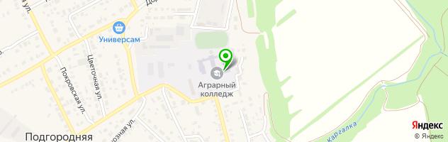 Оренбургский аграрный колледж — схема проезда на карте