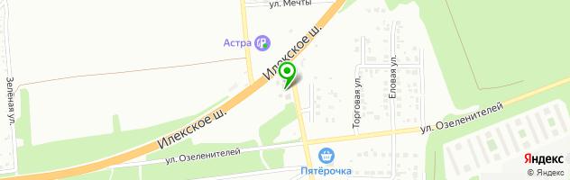 Сауна Жемчужина — схема проезда на карте