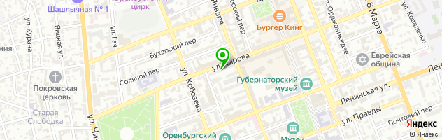 Ресторан Тифлисъ — схема проезда на карте