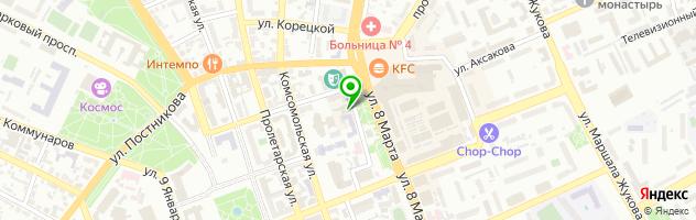 Ломбард АБСОЛЮТ — схема проезда на карте