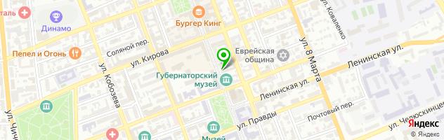 Spaco time cafe — схема проезда на карте