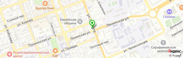 ПП Кафе кондитерская — схема проезда на карте