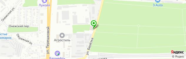 Торгово-сервисный центр Теплый стан — схема проезда на карте