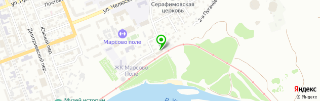 Ресторан Александр — схема проезда на карте