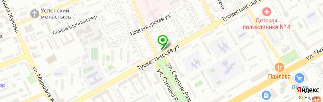 Цифровая типография Константа — схема проезда на карте