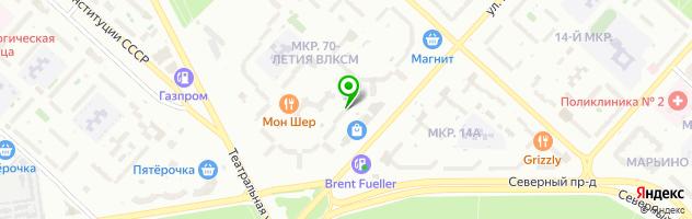 Медицинский центр Эскулап — схема проезда на карте