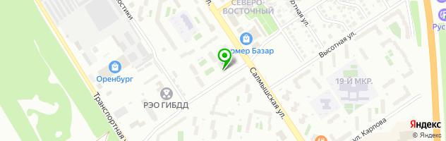 Ветеринарная клиника Ветдоктор — схема проезда на карте