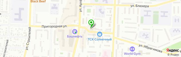 Развлекательный центр Империал — схема проезда на карте