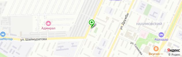 Магазин автотоваров Автосвет — схема проезда на карте