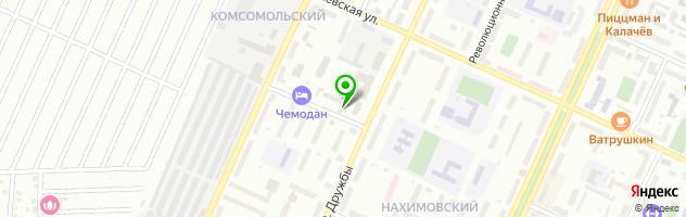 Торгово-сервисная компания Иволга — схема проезда на карте