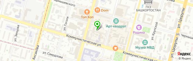 Модельное агентство 100 ЛИЦ — схема проезда на карте