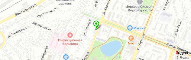 Медицинский центр ПАРАЦЕЛЬС — схема проезда на карте