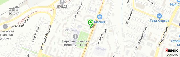 Центр независимой военно-врачебной экспертизы Военврач — схема проезда на карте
