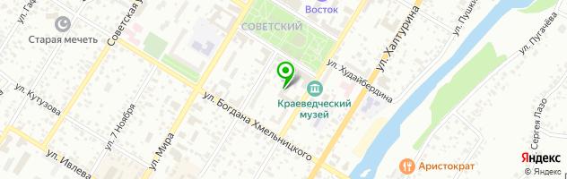 Развлекательный центр Страйк — схема проезда на карте