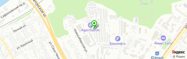Центр автостекол Стеклофф — схема проезда на карте