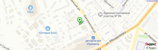 Автосервис Санрайз Авеню — схема проезда на карте