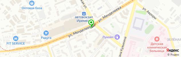 Ателье Белошвейка — схема проезда на карте