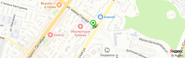 Кадровое агентство INVESTJOB — схема проезда на карте