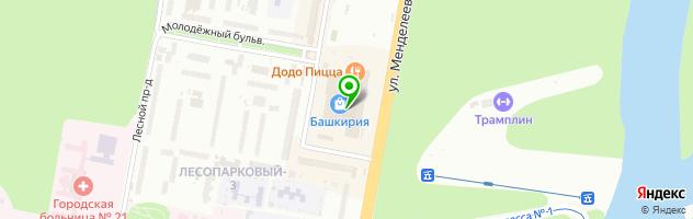 Контактный зоопарк Лесное посольство — схема проезда на карте