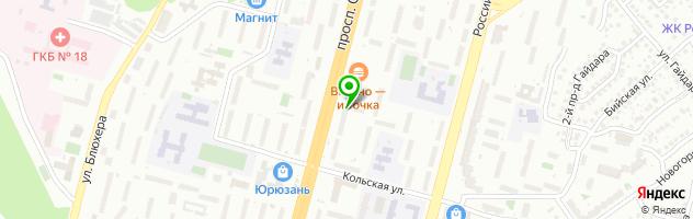 Ресторан Rest-Time — схема проезда на карте