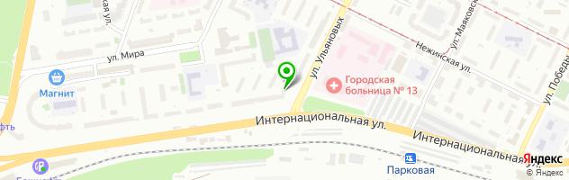 Торгово-сервисная компания Специалист — схема проезда на карте