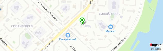 Стоматологическая клиника Delux — схема проезда на карте
