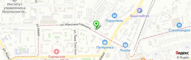 Детско-юношеский центр Салют — схема проезда на карте