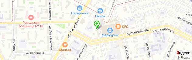 Гостиничный комплекс АЛЬФА — схема проезда на карте