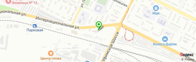 Центр автомасел Ойл-Маркет — схема проезда на карте
