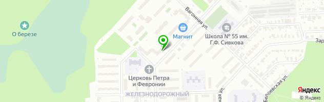 Многопрофильный медицинский центр Надежда — схема проезда на карте