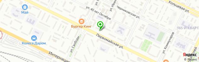 Уфимский оконный завод — схема проезда на карте