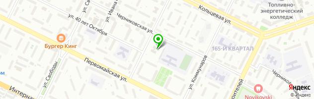 Учебный центр Экселенд — схема проезда на карте