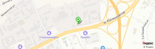 Кафе Лилия — схема проезда на карте