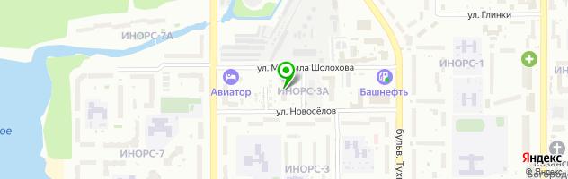 Центр коррекции фигуры Fitness Woman — схема проезда на карте