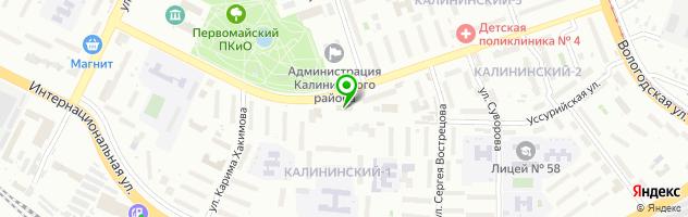 """Эко-Столовая"" — схема проезда на карте"