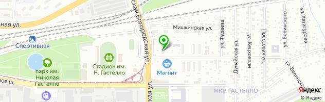 СТС-Сириус — схема проезда на карте