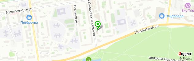 Учебный центр Алекс — схема проезда на карте