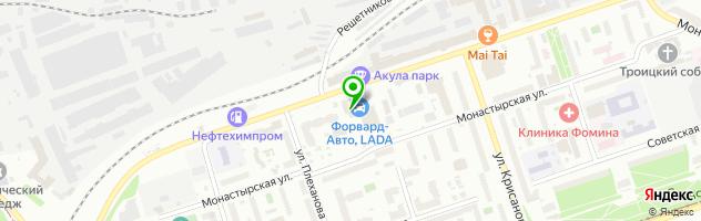Международный медицинский центр Медикал Он Груп-Пермь — схема проезда на карте