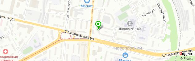 Гостинично-ресторанный центр Микос — схема проезда на карте