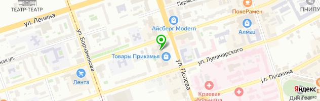 ZEN ОПТИКА — схема проезда на карте