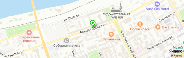 "Банкетный зал ""Баритон"" — схема проезда на карте"