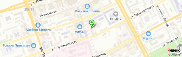 Кафе Корица — схема проезда на карте