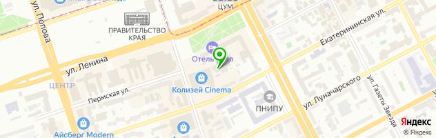 Танцевальный ресторан Одесса — схема проезда на карте