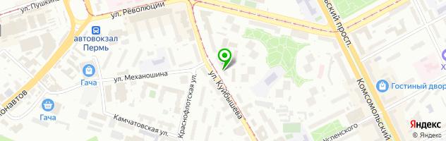 Печатный салон Штирлиц — схема проезда на карте