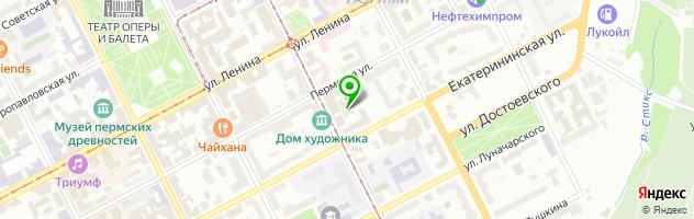 Печатный салон Гармония — схема проезда на карте