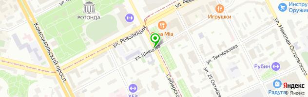 Кадровое агентство Персона-Контракт — схема проезда на карте