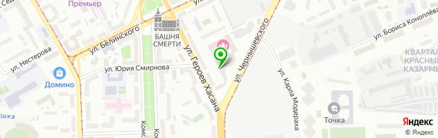 Образовательный центр профессиональной подготовки Олимп — схема проезда на карте