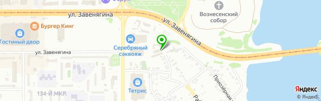 Шинный центр Ма.шина — схема проезда на карте
